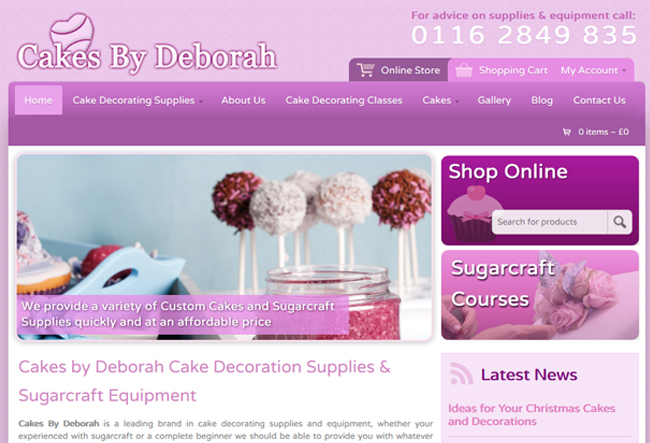 cakes-website