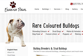 english-paws-website