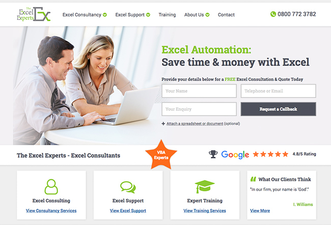 excel-experts-web - e-Fox Web Solutions